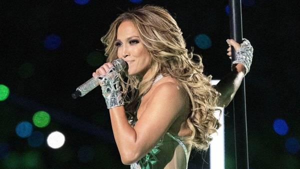 Jennifer Lopez Super Bowl LIV Afterparty Nails