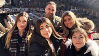 Joe Giudice Shares Video of Himself Eating Sushi With His Daughters