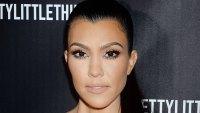 Kourtney Kardashian Makeup-Free Instagram