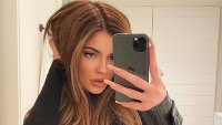 Kylie Jenner Wig Moment Instagram