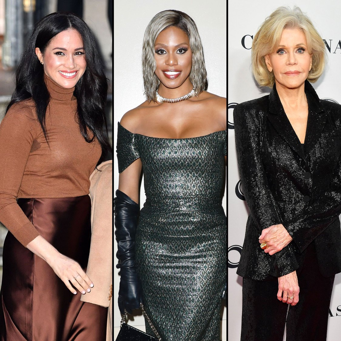 Meghan Markle Calls Laverne Cox Jane Fonda British Vogue Project Video