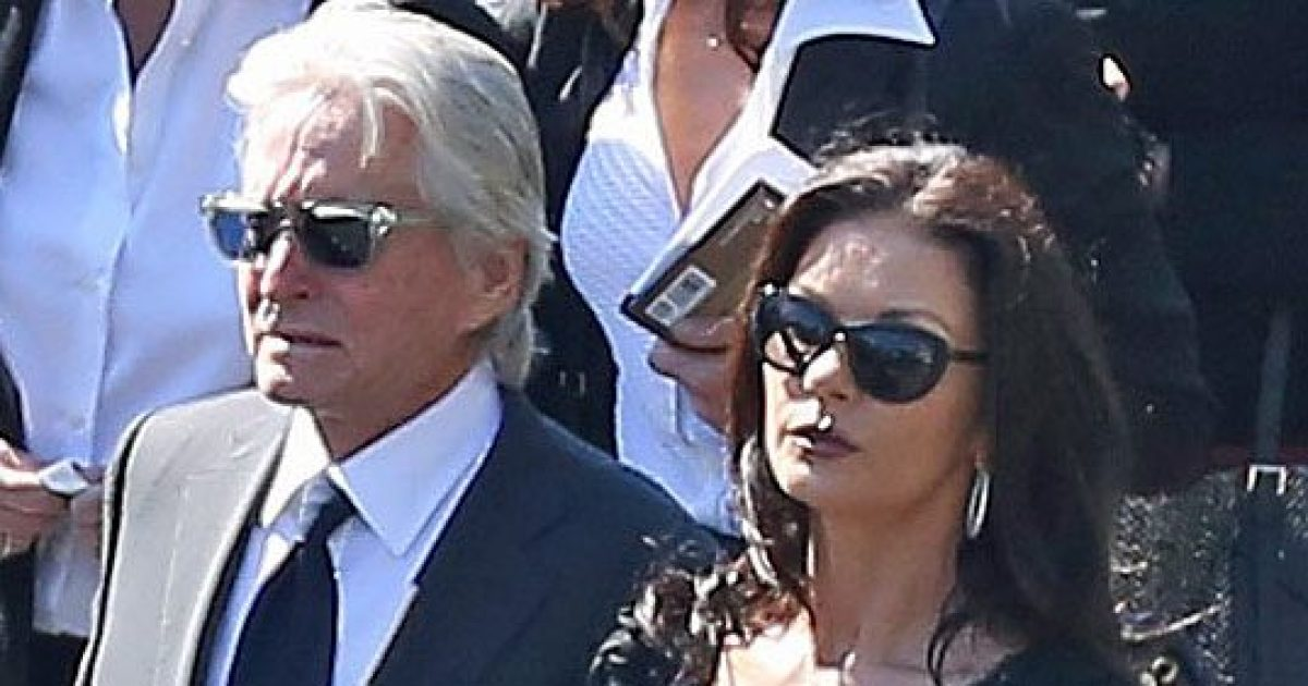 Kirk Douglas Laid to Rest at Funeral Attended by Michael, Catherine