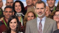 Queen Letizia Polka-Dot Dress February 14, 2020