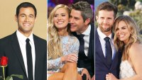 Jason Mesnik Lauren and Arie and Jed and Hannah Relive the Craziest Bachelor Endings Jason Mesnick