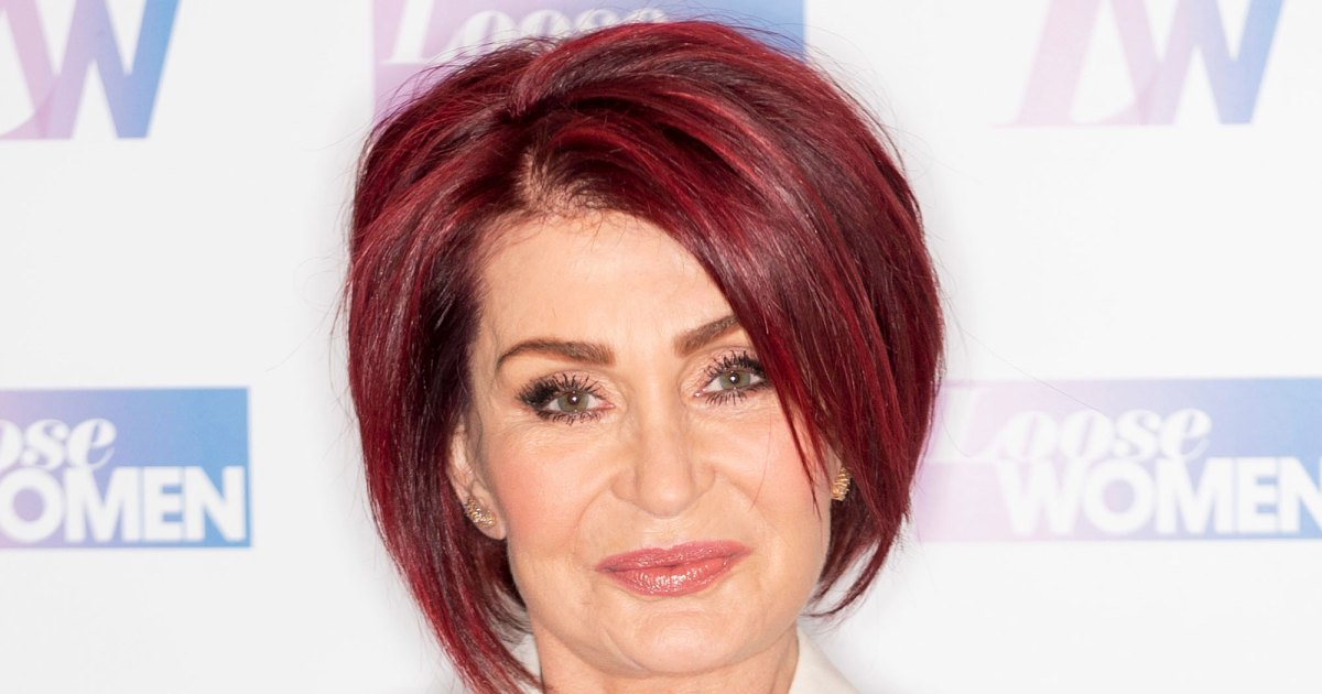 White Hot! Sharon Osbourne Debuts a Dramatic New Hair Color