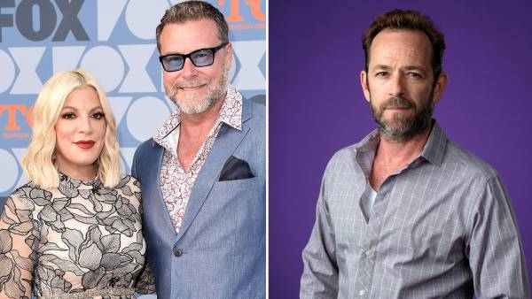 Tori Spelling and Dean McDermott Slam the Oscars for Leaving Luke Perry and Aaron Spelling Out of In Memoriam Tributes