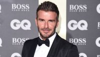 David Beckham Cuts Finger While Cooking