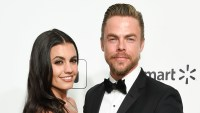 Derek Hough Talks 'Quality Time' With Girlfriend Hayley Erbert Amid Quarantine and Reveals If They'll Contribute to the COVID-19 Baby Boom