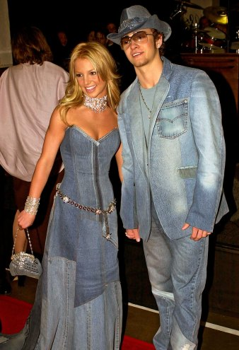Justin Timberlake Defends Denim Ensemble With Britney Spears