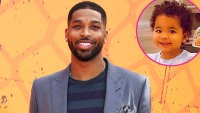 Tristan Thompson Is All Smiles in Sweet Shots With Daughter True