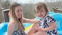 Carly Waddell's Daughter Bella Feeling Better 2