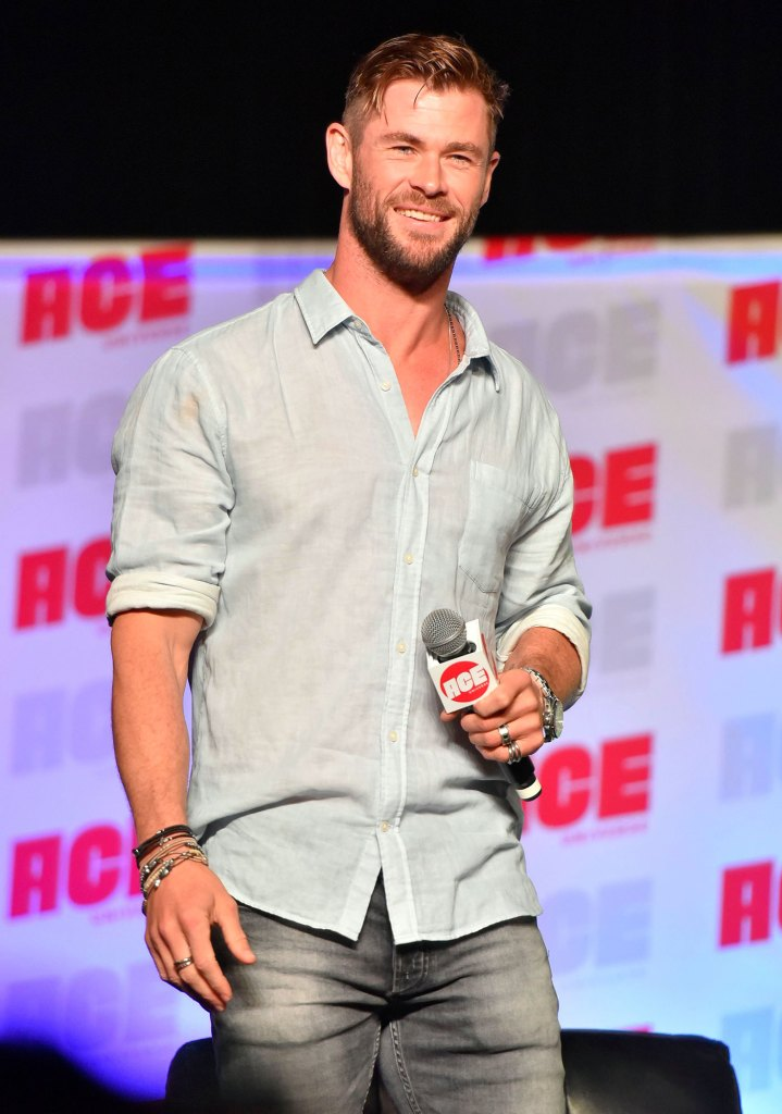 Entretien avec Chris Hemsworth Comic-Con Son Crash