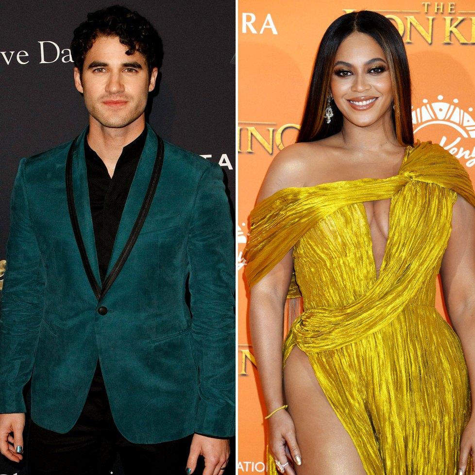 Darren Criss plaisante que Beyonce a volé sa chanson singalong