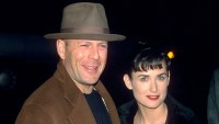 Demi Moore and Bruce Willis Amicable Relationship Through the Years