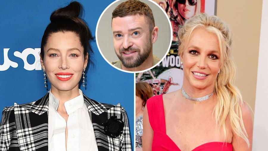 Jessica Biel Is Not Threatened by Britney Spears and Justin Timberlake Instagram Exchange