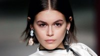Kaia Gerber Is Fresh-Faced and Red After an At-Home Workout