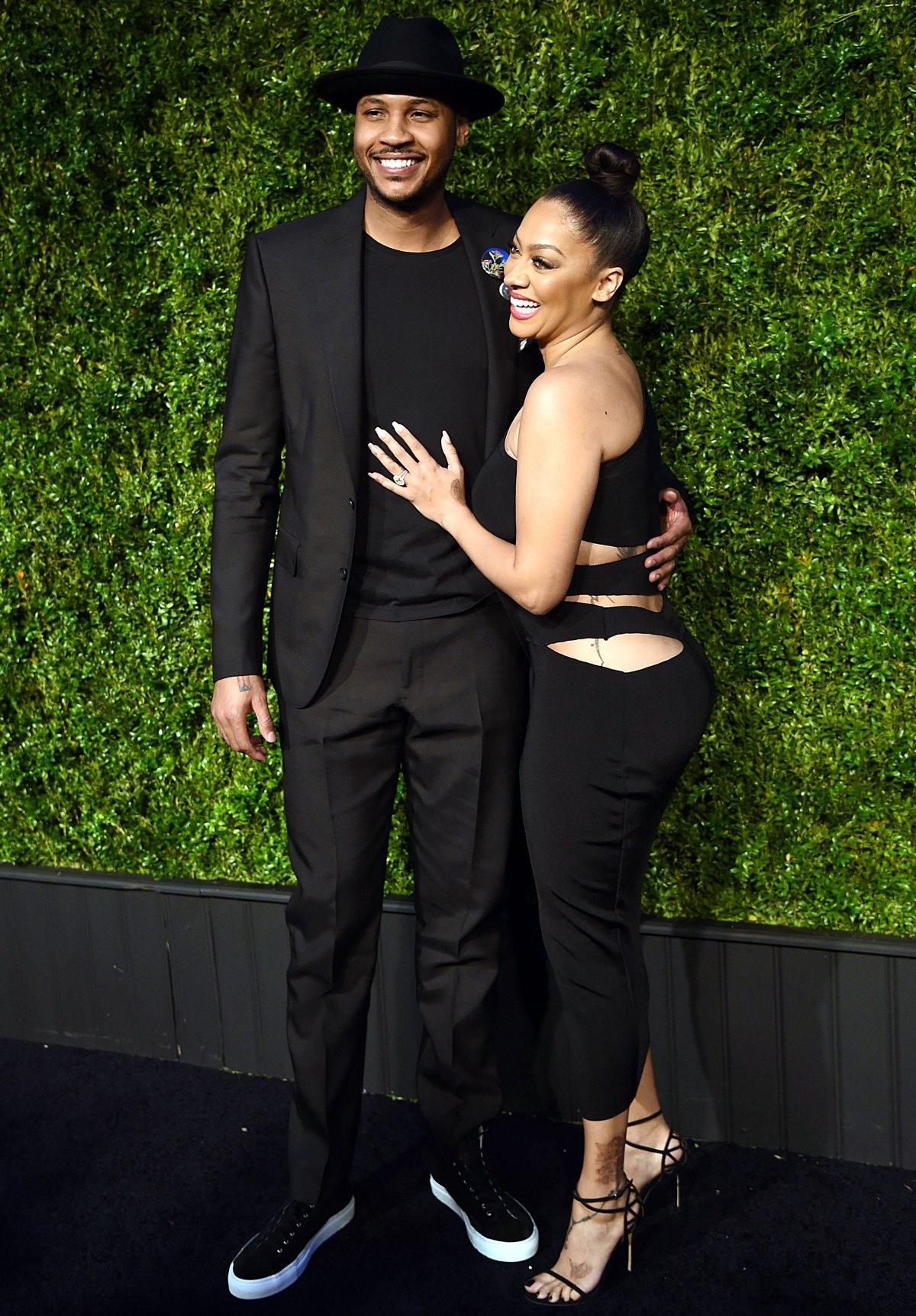 La La Anthony Reveals She's Quarantining With Carmelo Anthony