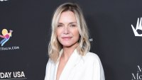 Michelle Pfeiffer Shares Throwback Pregnancy Pic and Says Shes Missing Her Kids Amid the Coronavirus