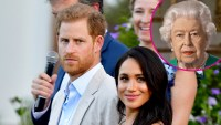 Prince Harry and Meghan Markle Watched the Queen's Coronavirus Address p