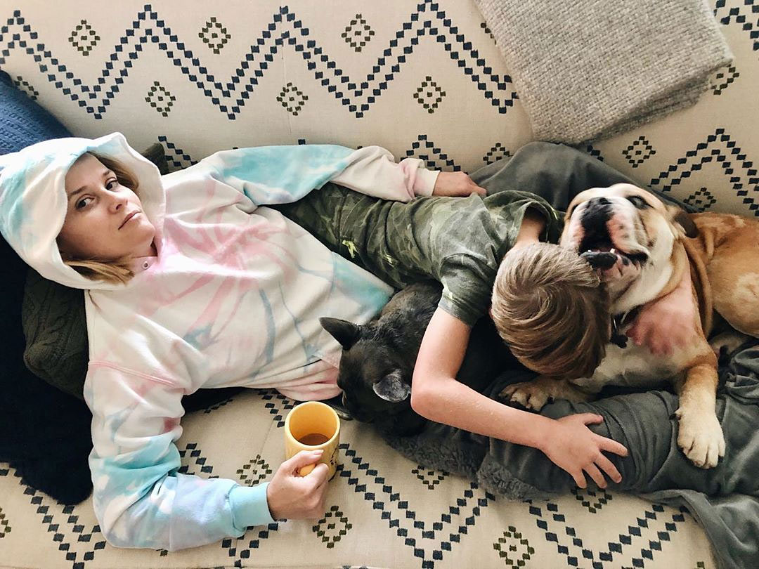 Reese Witherspoon's Love of Her Dogs Is Contagious: Photos