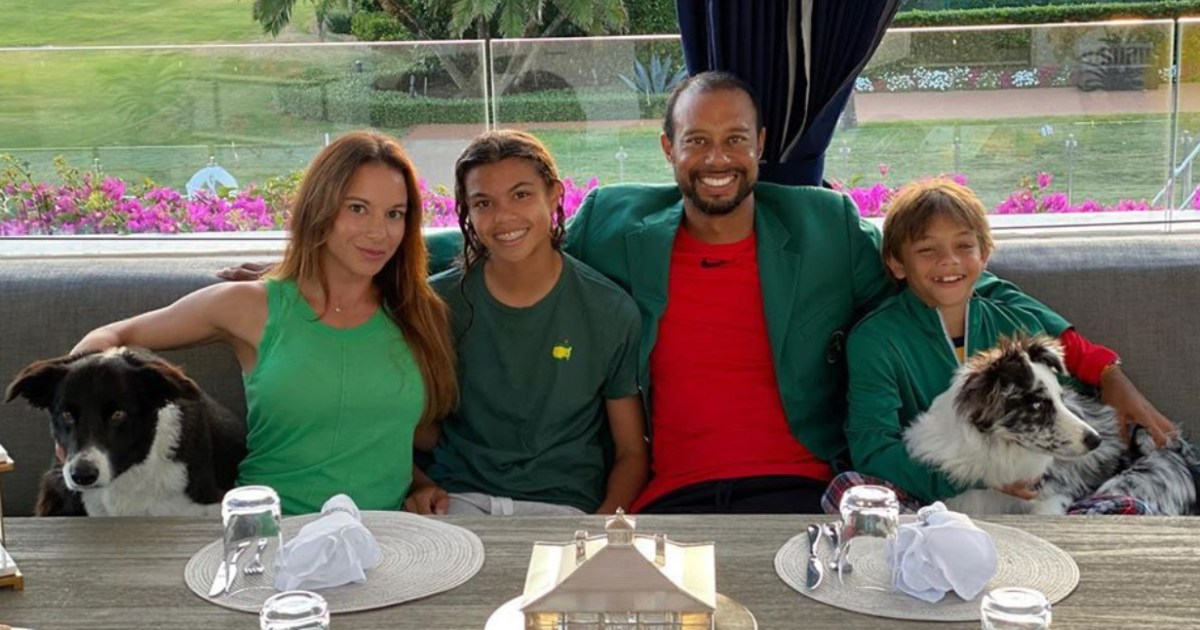 Tiger Woods Shares Rare Photo With Kids and Girlfriend: 'Nothing Better'
