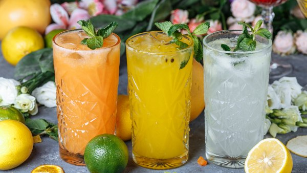 spring and summer drink recipes