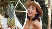 Bekah Martinez Bikini Baby Bump 35 Weeks