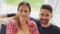 Brandon Jenner and Cayley Stoker breast-feeding