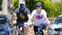 Chris Pratt Katherine Schwarzenegger Celebrity Workout Buddies