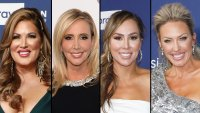 Real Housewives of Orange County Emily Simpson, Shannon Beador, Kelly Dodd and Braunwyn Windham-Burke Reunite