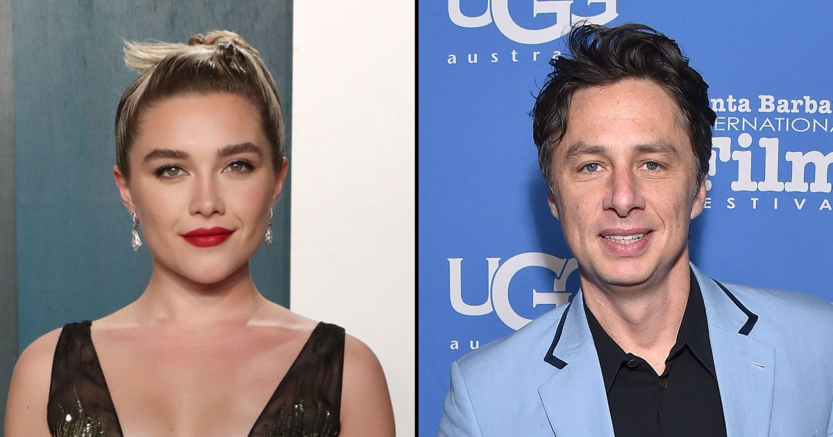 How Florence Pugh and Zach Braff are Doing 'Date Night' in Quarantine