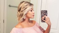 Jenna Cooper Mirror Selfie May 2020