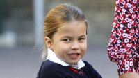 Princess Charlotte Is Real Character for the Cameras