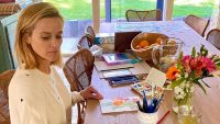Reese Witherspoon painting