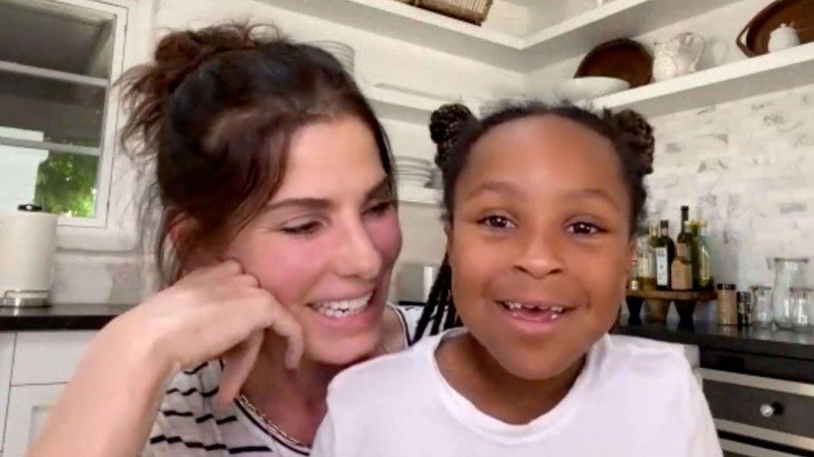 Sandra Bullock, Daughter Laila Thank a Nurse Fighting COVID-19