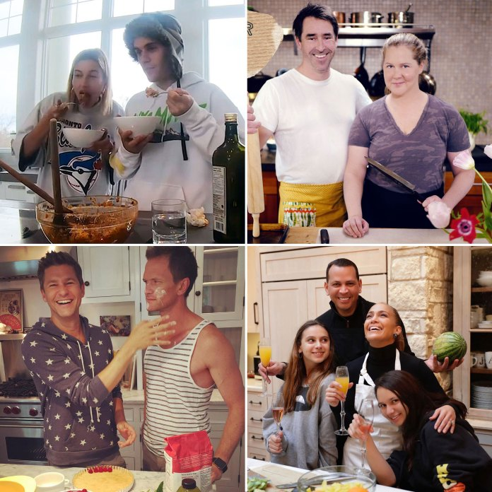 Celeb Couples Cooking Together