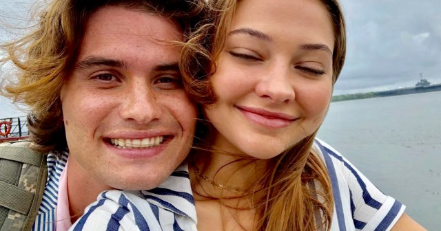 From 'Outer Banks' Costars to Real-Life Couple: Chase Stokes and Madelyn Cline's Cutest Moments.jpg