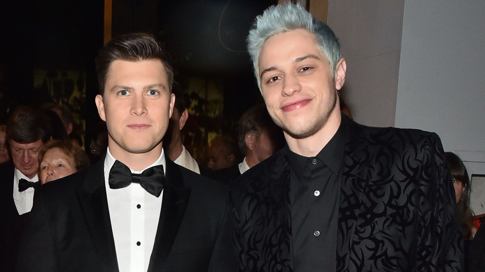 Snl S Pete Davidson Colin Jost To Costar In Comedy Movie Worst Man
