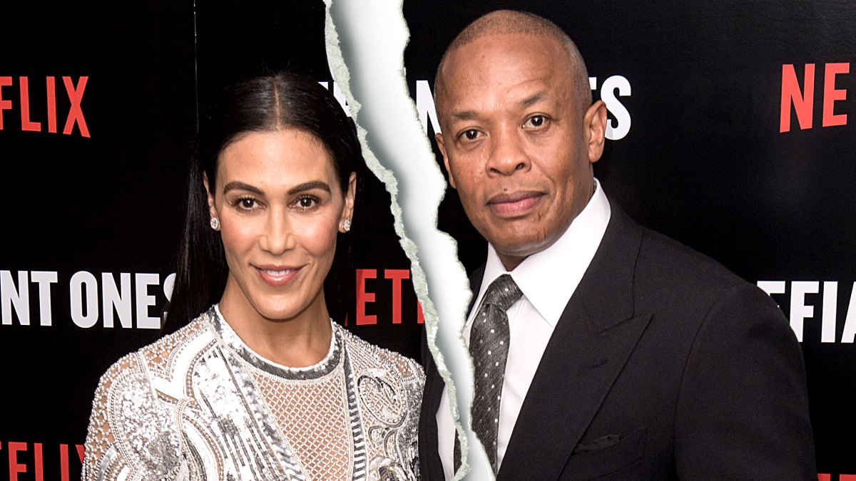 Dr. Dre's Wife Nicole Young Files for Divorce After 23 Years