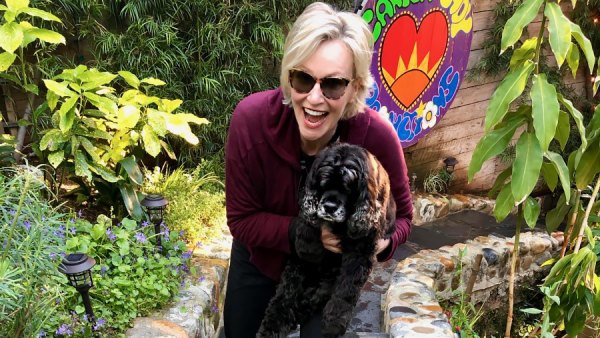 Jane Lynch Raves About 'Really Tight Relationship' With Her Dogs Amid Quarantine