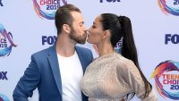 Nikki Bella and Artem Chigvintsev PDA