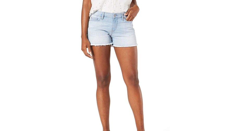 Signature by Levi Strauss & Co. Gold Label Women's Mid-Rise Cut Off Shorts