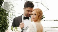 All of the Dresses Brittany Snow Wore on Her Wedding Day to Tyler Stanaland