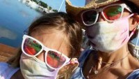 Bethenny Frankel and Bryn Celebrity Kids Wearing Face Masks Amid Coronavirus Pandemic
