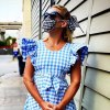 Busy Philipps 'Wizard of Oz' Look With Face Mask and Birkenstocks