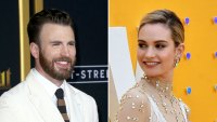 Chris Evans and Lily James Only Have Eyes for Each Other During Ice Cream Date