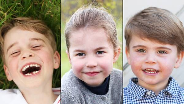 Duchess Kate and Prince William Kids Birthday Portraits Over the Years