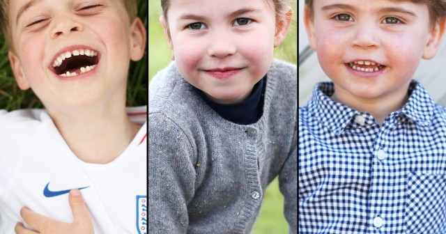 Duchess Kate and Prince William's Kids' Birthday Portraits Over the Years.jpg