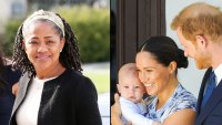 Inside Doria Ragland Stay With Meghan Markle Prince Harry and Son Archie
