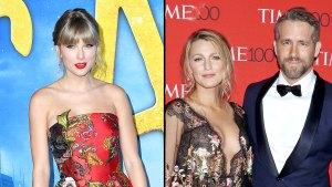 Inside Taylor Swift Friendships With Blake Lively Ryan Reynolds